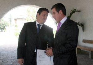 Jorge Aristóteles Sandoval Díaz y Miguel Castro Reynoso