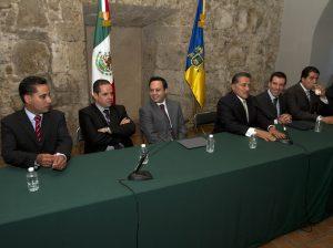 Reunión del 5 de marzo entre diputados locales y el Poder Ejecutivo Foto: Javier Hoyos