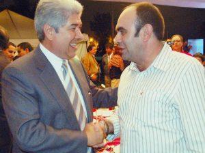 Eduardo Rosales y FRA (saludo)