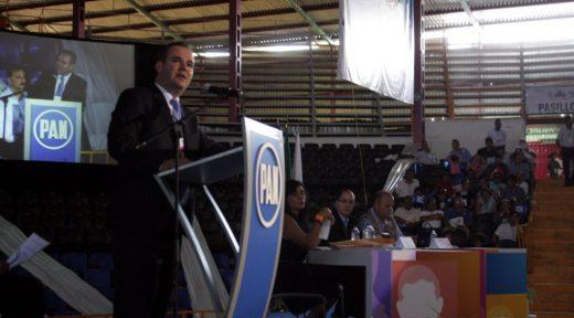 Miguel Ángel Monraz en Asamblea