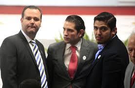 Juan Carlos Guerrero, Miguel Monraz y Aubry