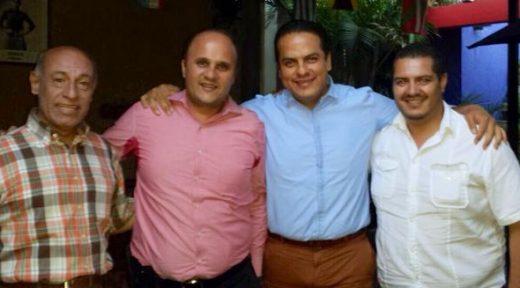 Alfonso Rejón, Pepe Toño y Antonio Pinto