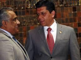 Gustavo Macías y Raúl Vargas