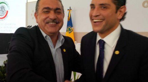 Enrique Aubry y Hugo Contreras