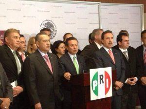 PRI Dirigencia y legisladores