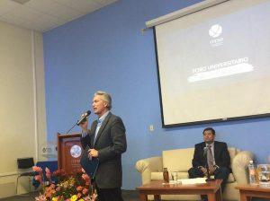 Alfonso Petersen en el ITESO