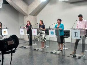 Debate candidatos Distrito 10