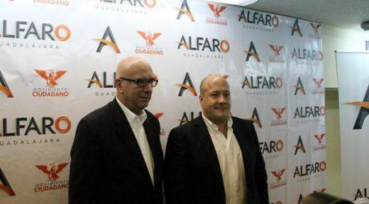 Dante Delgado y Enrique Alfaro