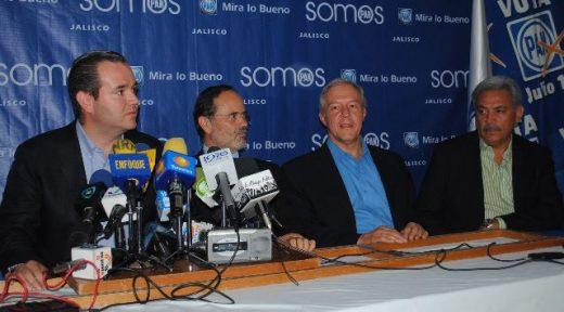 Gustavo Madero y panistas rp