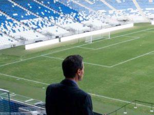 Peña Nieto en Estadio Rayados Monterrey