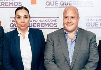 María Elena Limón y Enrique Alfaro