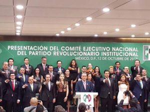 Arturo Zamora protesta CEN del PRI
