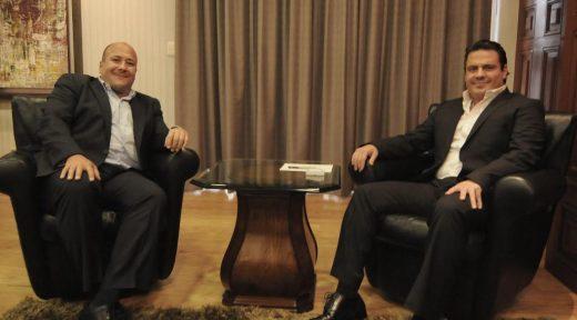 Aristóteles Sandoval y Enrique Alfaro
