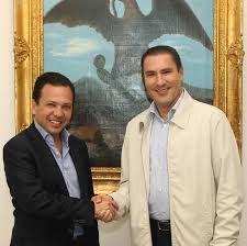 Rafael Moreno Valle y Pablo Lemus