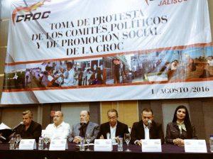 Enrique Alfaro y la CROC