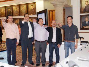 Gustavo Curiel Camarena y Diego Monraz