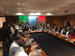Enrique Alfaro alcaldes en San Lázaro