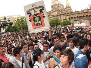 Estudiantes UdeG manifestación (2)