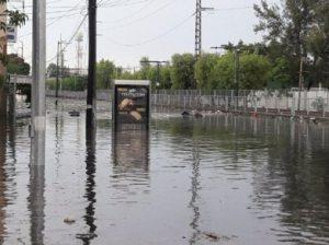 Inundación Gdl Julio 2017
