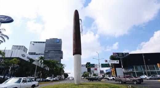 31 Jul 2017 . El Presidente Municipal Enrique Alfaro inaugura la escultura del artista Pedro Escapa