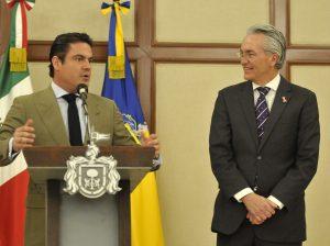 Alfonso Petersen y Aristóteles Sandoval