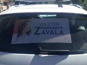 Margarita Zavala calca