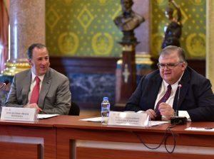José Antonio Meade y Agustín Carstens