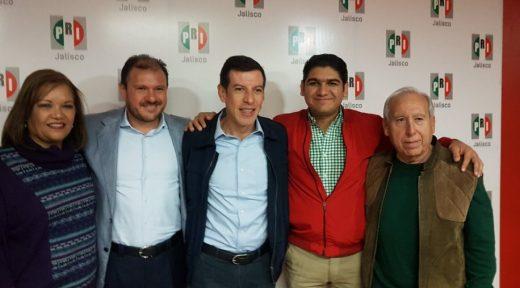 Abel Salgado, Castro, Oscar Rizo, Torres