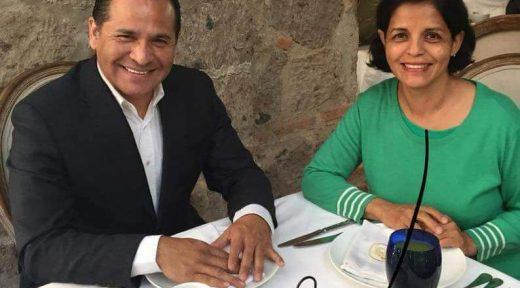 Rocío Corona y Eduardo Almaguer