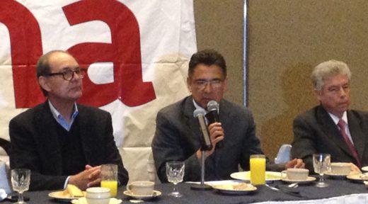 Ignacio Celis, Carlos Castanedo y Alberto Ibarra