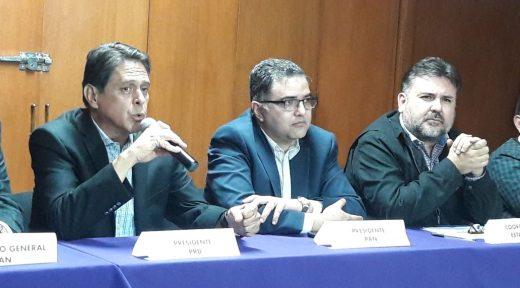 Miguel Angel Mtz, Gmo Medrado y PRD