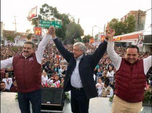 Alberto Uribe, Amlo y Lomelí