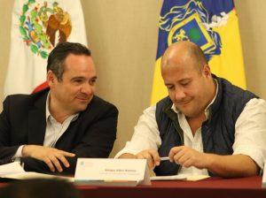 Alberto Uribe y Enrique Alfaro
