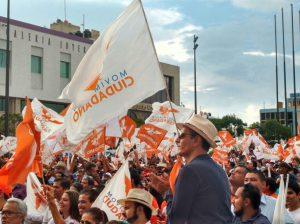 Simpatizantes Movimiento Ciudadano