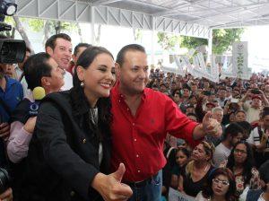 Héctor Pizano y Mariana Fdez