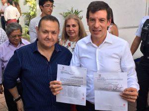 Héctor Pizano y Miguel Castro