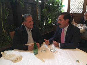 Jesús Casillas y Arturo Zamora