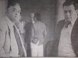 Juan garcía de Quevedo y Mario Aldana