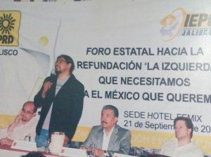 Ismael del Toro refundar PRD 2