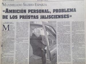 Maximiliano Silerio Esparza entrevista