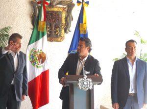 Luis Carlos Nájera toma de protesta