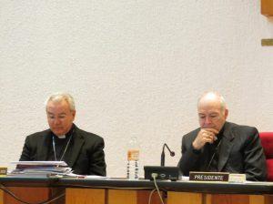 Cardenales José Fco Robles y Carlos Aguiar